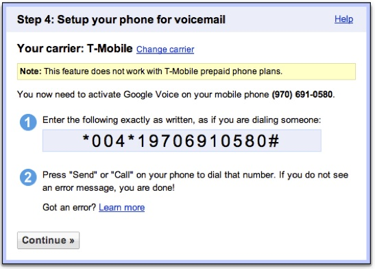 Google voice for real estate professionals step 5 activate google voice m4hsunfo
