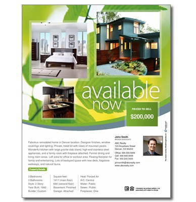 real estate property brochures | template