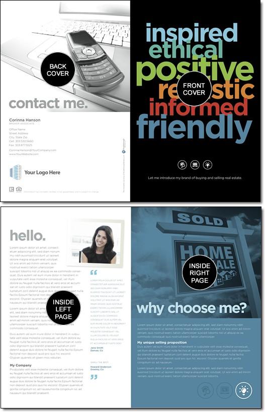 promotional brochure template self promotional brochure