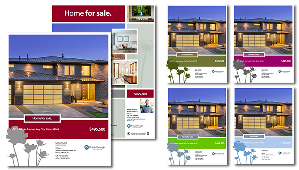 Real Estate Brochure  Home For Sale Brochure