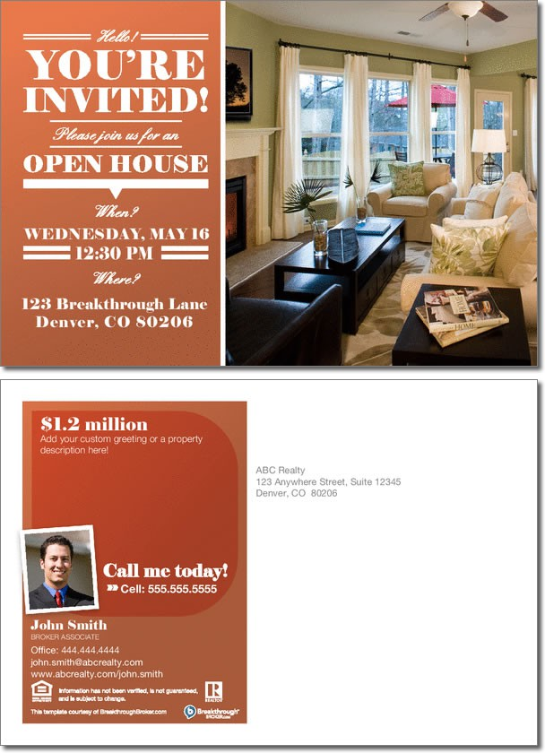 Open House Invitation Sample Boatjeremyeatonco - Open house invitation template