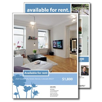 For Rent Flyers .  For Rent Flyer Template