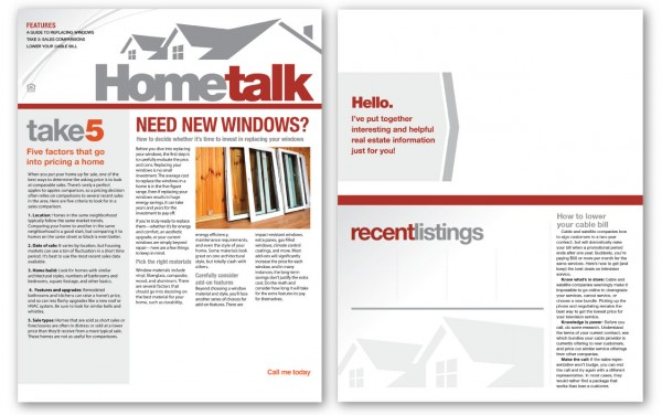 Real Estate Newsletters – Real Estate Newsletter Template