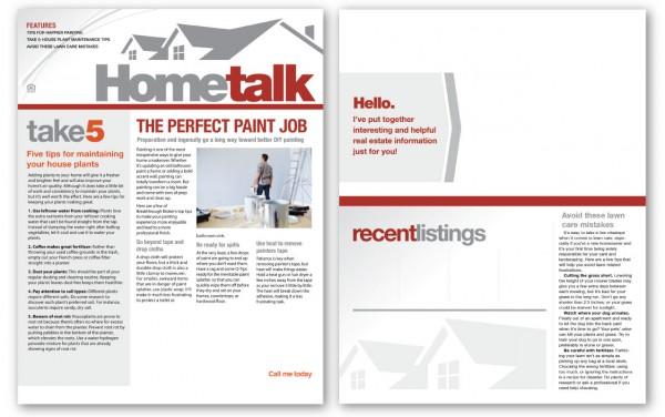 Real Estate Newsletters – Real Estate Newsletter Template