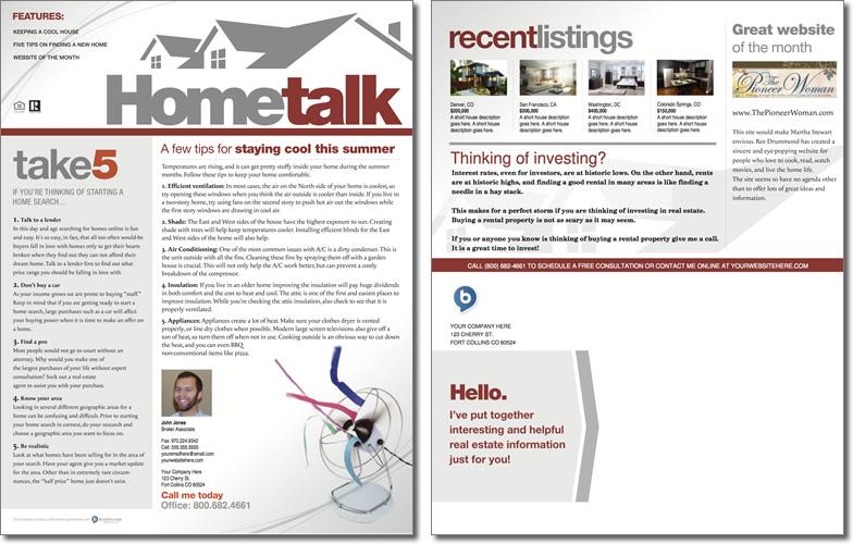 Hometalk Newsletter Template Issue 1