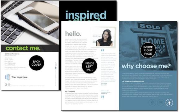 Real estate self-promo brochure
