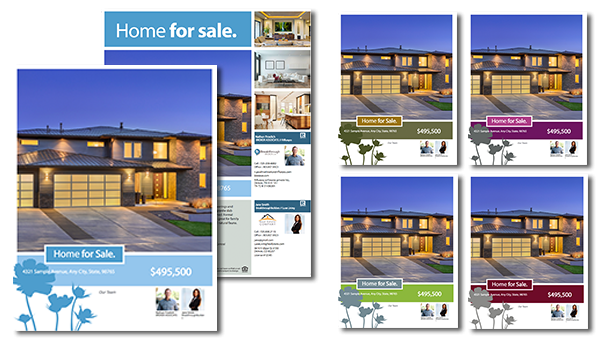 Real estate team brochure