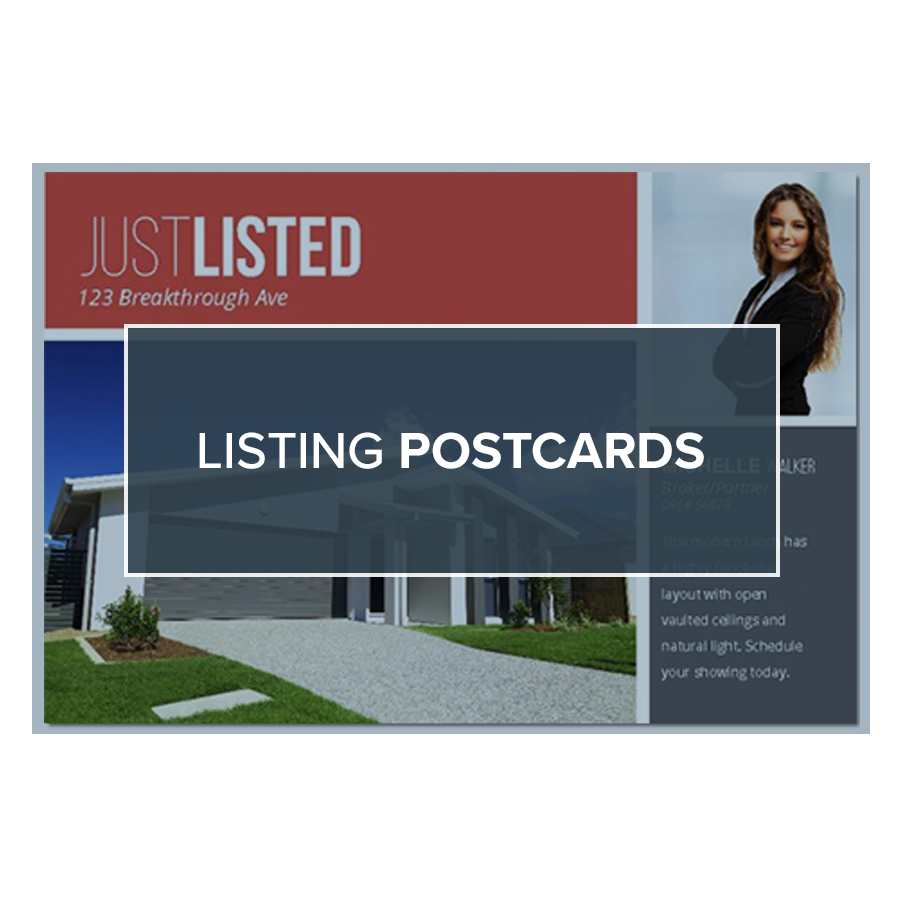 Free Real Estate Postcards And Templates Breakthrough Broker - Real estate postcard templates