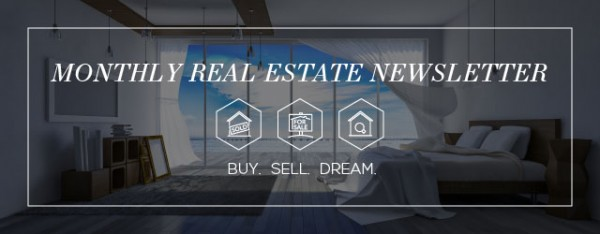 Email banner for real estate agents