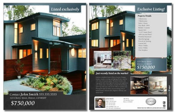 Real Estate Brochures – Real Estate Brochure Template